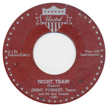 Night Train - Forest label
