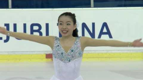 2016 ISU Junior Grand Prix - Ljubljana - Ladies Free Skate - Rika KIHIRA JPN