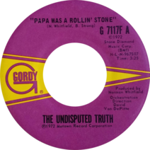 Papa Was a Rollin' Stone by The Undisputed Truth US vinyl
