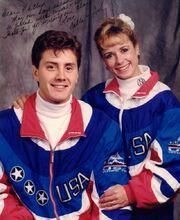 Calla Urbanski and Rocky Marval