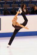 Kiira Korpi Spiral - 2006 Skate America