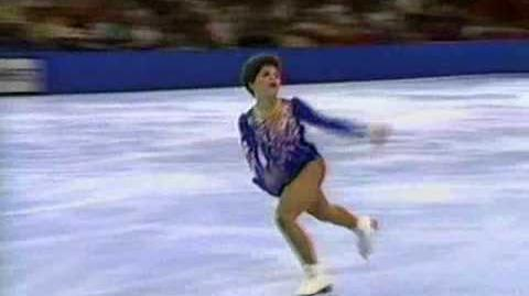 Cindy Bortz 1988 US Nationals FS