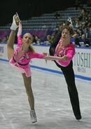 Maria Sergejeva and Ilja Glebov NHK Trophy 2008