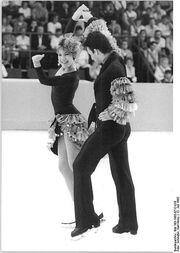 Tracy Wilson and Robert McCall