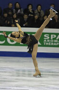 Mao Asada Spiral Grand Prix Final 2008