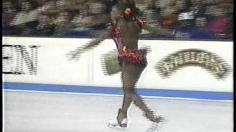 Surya Bonaly (FRA) - 1995 European Figure Skating Championships, Ladies' Free Skate