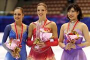 2007 NHK Trophy Ladies Podium