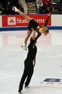 Anabelle Langlois & Cody Hay Lift - 2006 Skate America