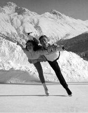 YvonneShermanRobertSwenning1948Olympics