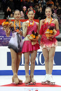 2007-2008 GPF Ladies Podium