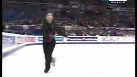Stephane Lambiel -LP Flamenco - 2007 Worlds