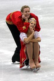 Junior World Championships 2008 Emily SAMUELSON Evan BATES OD