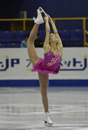Becky Bereswill Spin 2008-2009 JGPF