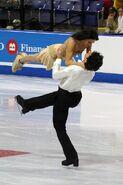Dubreuil & Lauzon Lift - 2006 Skate Canada