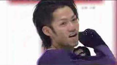Daisuke Takahashi FS-2007 2008 Japanese Nats
