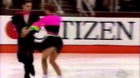 Sharutenko & Naumkin (RUS) - 1995 World Juniors, Free Dance