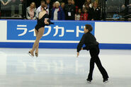 Jessica Miller & Ian Moram Throw Jump - 2006 Skate Canada