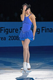 Carolina Kostner Grand Prix Final 2008