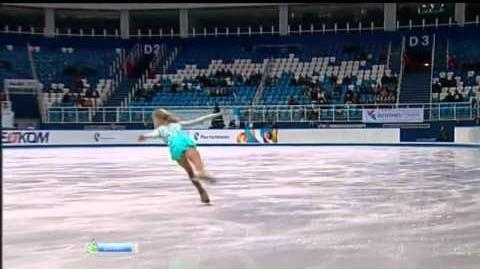 Serafima SAKHANOVICH 2013 FS Russian Nationals