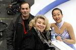 Rafael Arutunian Mao Asada and Tatiana Tarasova