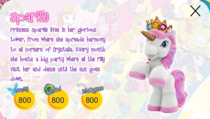 Princess Sparkle 2, toy bio