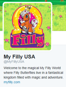 My Filly USA Twitter
