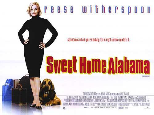 ผลการค้นหารูปภาพสำหรับ sweet home alabama film poster