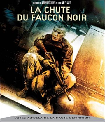 Medium DVD Faucon noir
