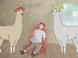Llamas with Hats (Video)