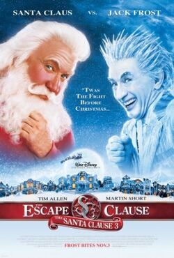 The Santa Clause 3 - The Escape Clause (DVD cover art)