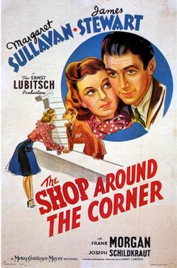 The Shop Around the Corner - 1940- Poster