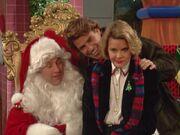 Married With Children Christmas al bundy santa