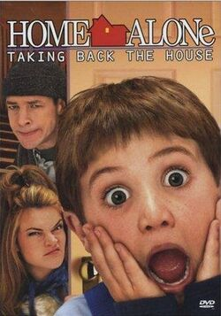 Home alone 4 tv print ad