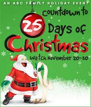 25 Days Christmas Countdown ABC Family