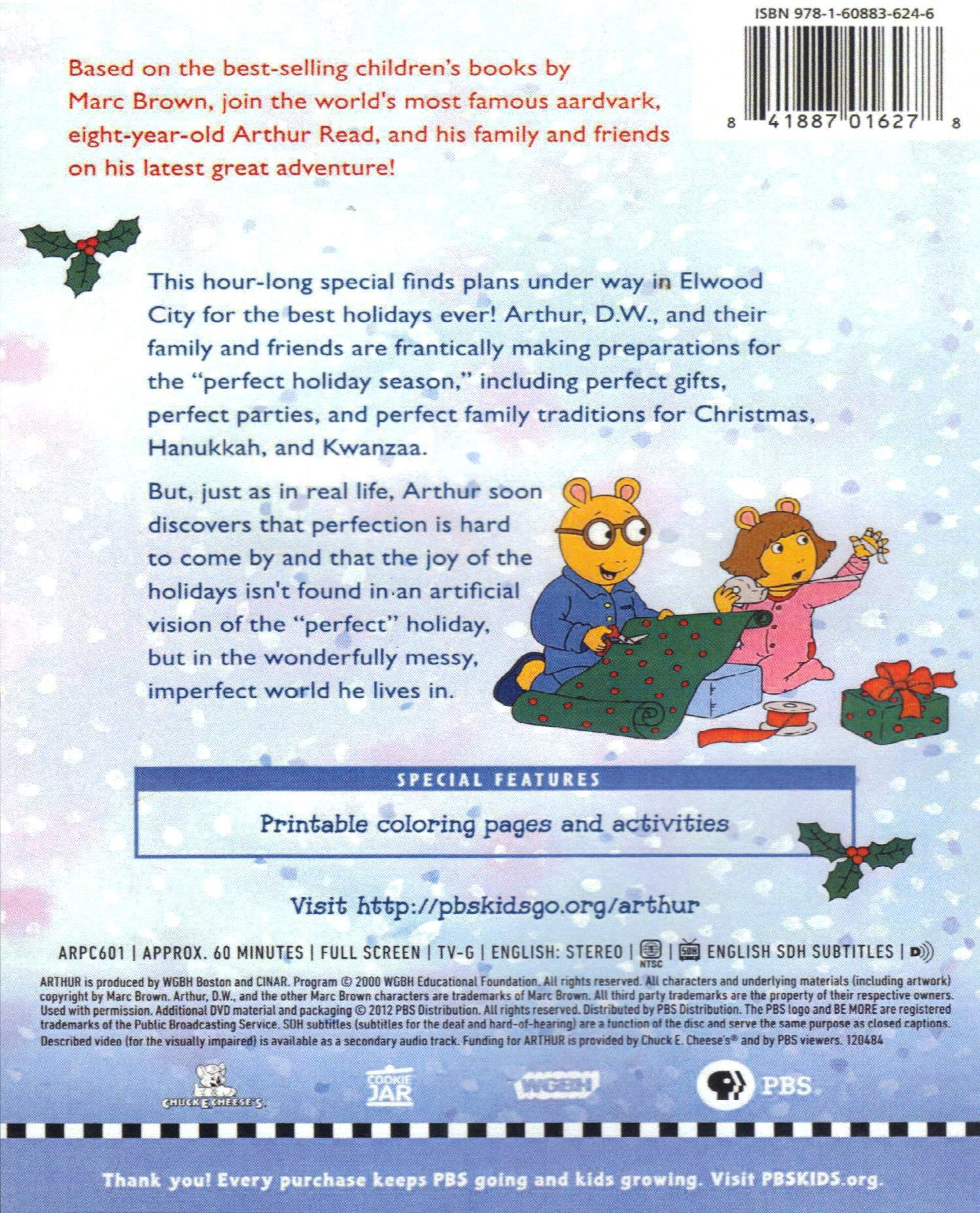 arthurs perfect christmas filme de crciun wiki fandom powered by wikia - Arthur Perfect Christmas