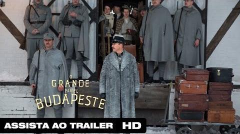 O Grande Hotel Budapeste Trailer Legendado HD 2014