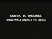 Coming to Theatres from Walt Disney Pictures