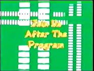 Join Us After the Program (Music Bars Variant)