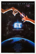E.T. the Extra-Terrestrial 1982 Poster