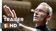 Steve Jobs Official Trailer 2 (2015) - Michael Fassbender, Kate Winslet Movie HD