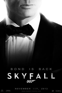 Skyfall teaser poster by andrewss7-d4f59z0