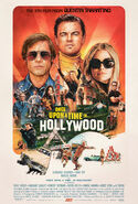Once Upon a Time in Hollywood 2019 Poster