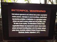 Lionsgate Interpol Warning Screen