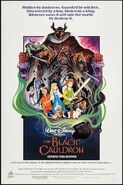 The Black Cauldron poster
