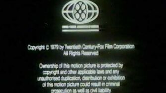 Closing to Alien 1980 VHS True HQ