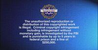 CTSP FBI Warning Screen 5