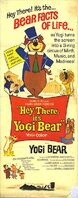 Hey There It's Yogi Bear poster 1964