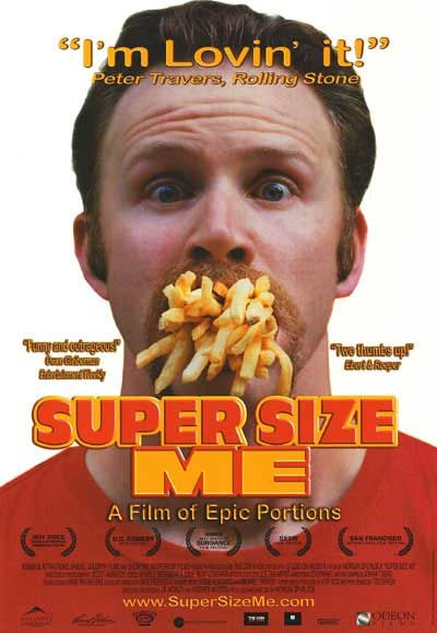 Supersize meals obesity