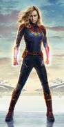 Captain Marvel Textless 2