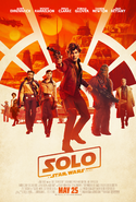 Solo - A Star Wars Story 2018 Poster